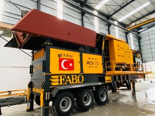concasseur FABO MCK-110 MOBILE CRUSHING & SCREENING PLANT | JAW+SECONDARY neuf