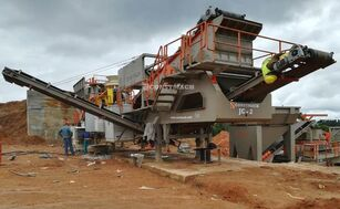concasseur mobile CONSTMACH 120-150 TPH Capacity Mobil Stone Crusher Plant neuf