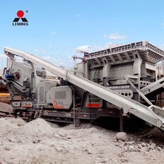 concasseur mobile Liming 300tph Combined Mobile Road Building Crushers Machine neuf