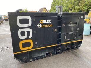 générateur diesel GELEC OUTDOR-90 YC endommagé