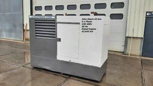 générateur diesel JOHN DEERE LSA 43.2S2 Silent 3 x Phase 43kva
