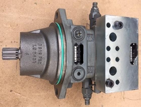 moteur hydraulique LIEBHERR Hydraulikeinbaumotor FMF045 & Dämpfungsventil DV22 pour autre matériel industriel LIEBHERR FMF045